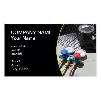 AC maintenance Double-Sided Standard Business Cards (Pack Of 100)