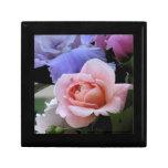 AC- Pink Rose Floral Art Gift Box