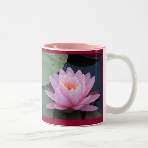 AC- Pink Water Lily Mug