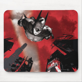 AC Poster - Batman flying Mouse Pad