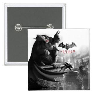 AC Poster - Batman Gargoyle Ledge Pinback Buttons