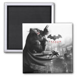 AC Poster - Batman Gargoyle Ledge Fridge Magnets