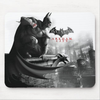 AC Poster - Batman Gargoyle Ledge Mouse Pad