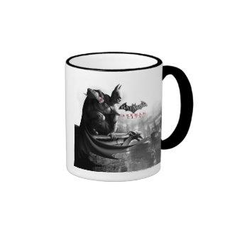 AC Poster - Batman Gargoyle Ledge Ringer Mug