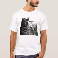AC Poster - Batman Gargoyle Ledge T-Shirt