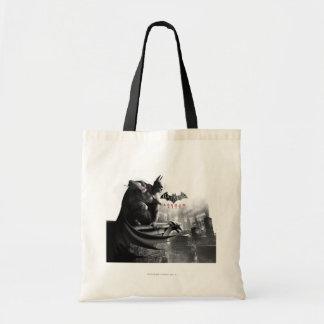 AC Poster - Batman Gargoyle Ledge Tote Bag