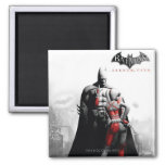 AC Poster - Batman & Harley 2 Inch Square Magnet