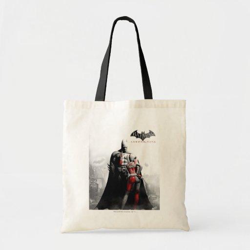 AC Poster - Batman & Harley Budget Tote Bag