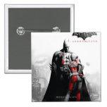 AC Poster - Batman & Harley Button