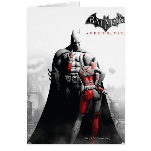 AC Poster - Batman & Harley Card