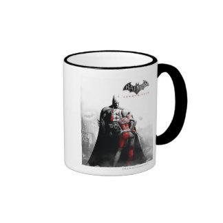 AC Poster - Batman & Harley Ringer Coffee Mug