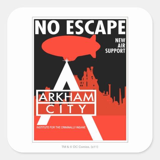 AC Propaganda - No Escape - New Air Support Square Sticker