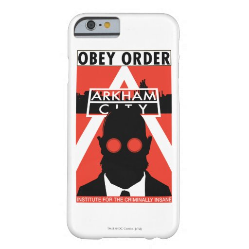 AC Propaganda - Obey Order Barely There iPhone 6 Case