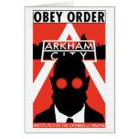 AC Propaganda - Obey Order Greeting Card