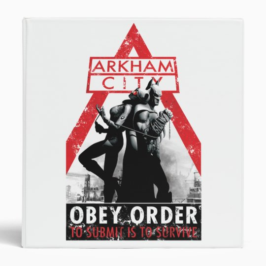 AC Propaganda - Obey/To Submit Is To Survive Binder