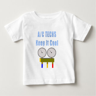 AC Techs Keep it Cool.png Baby T-Shirt