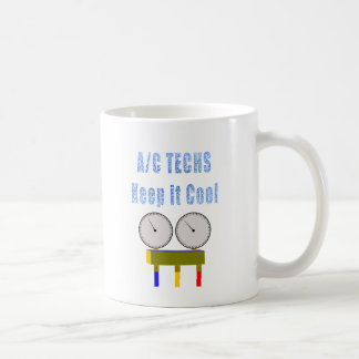 AC Techs Keep it Cool.png Coffee Mug
