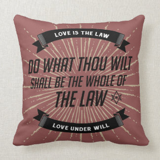 AC Thelema Statement Pillow