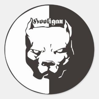 ACAB - Hooligan Round Sticker