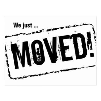 Acabamos de mover las postales para el nuevo hogar
