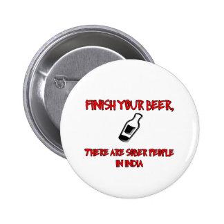 acabe su cerveza con una botella de cerveza pins