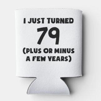 Acabo de dar vuelta a 79 más/menos enfriador de latas