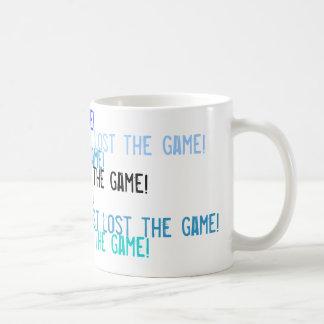 ¡Acabo de perder el juego! Taza De Café