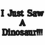 ¡Acabo de ver un dinosaurio!!!