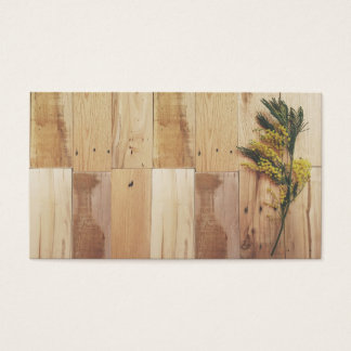 Acacia and Wood Business Cards