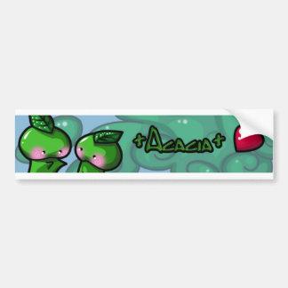 +Acacia+ Car Bumper Sticker
