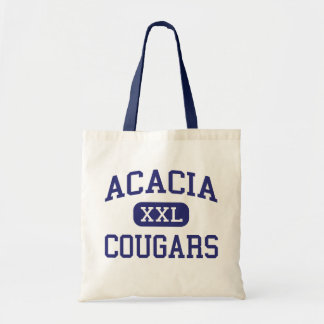 Acacia Cougars Middle Hemet California Canvas Bag