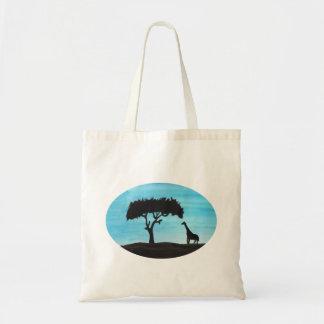 Acacia & Giraffe Tote Bag
