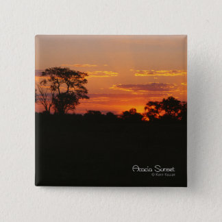 Acacia Sunset Button