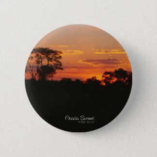 Acacia Sunset Round Button