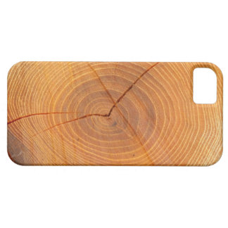 Acacia Tree Cross Section iPhone SE+5/5S Case