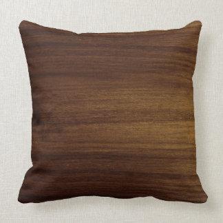 Acacia Wood Grain Pillow