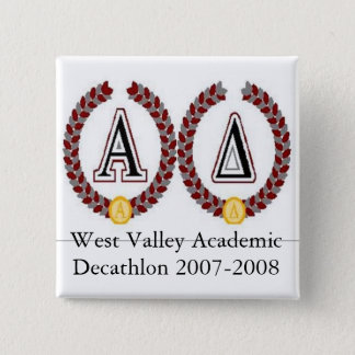 acadec2, West Valley Academic Decathlon 2007-2008 Button