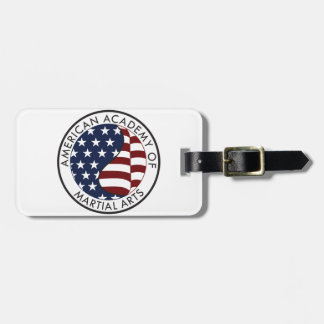 Academia americana de materia del coleccionable de etiquetas para maletas