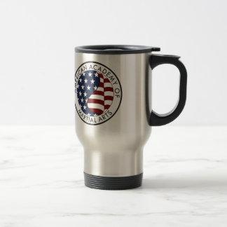 Academia americana de materia del coleccionable de taza térmica