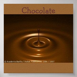 academia-barrilla-gastrónomo-chocolate-crema batid póster