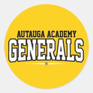 Academia de Autauga; Generales Pegatinas Redondas