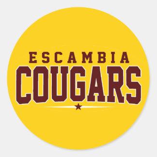 Academia de Escambia; Pumas Etiquetas Redondas