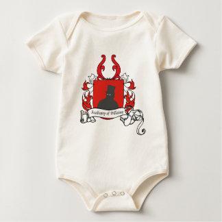Academia de escudo de armas de la villanía mameluco de bebé