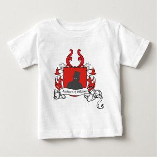 Academia de escudo de armas de la villanía playera de bebé
