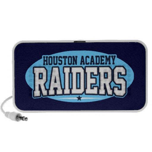 Academia de Houston; Asaltantes entrenados para la Altavoz