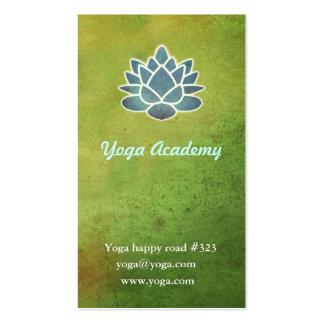 Academia de la yoga tarjetas de visita