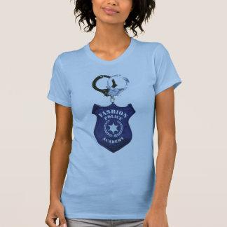 Academia de policía de la moda playeras