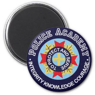 Academia de policía imán redondo 5 cm