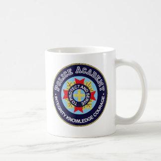 Academia de policía tazas de café