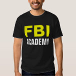 ACADEMIA del FBI - camiseta oficial de la academia Playeras
